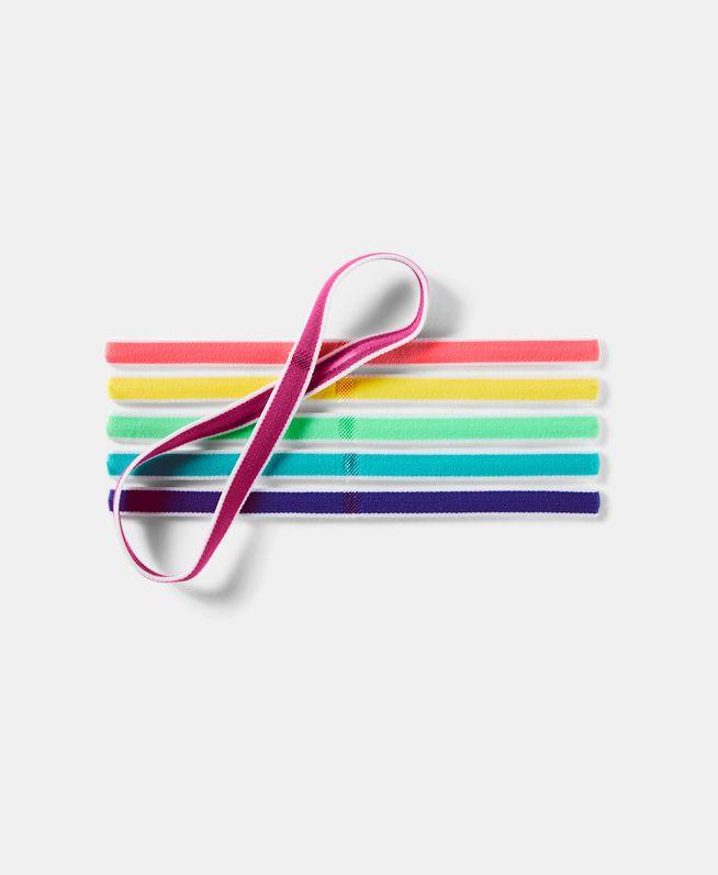 女童UA迷你头带 – 6条装