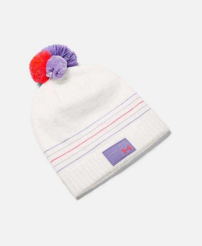 女童UA Triple Scoop小圆帽