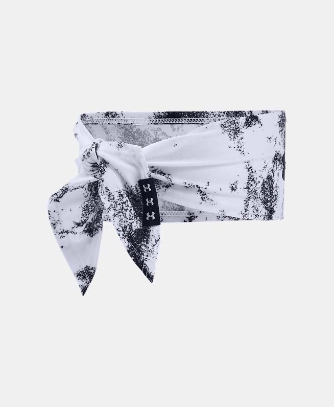 男女同款UA Tie印花头带