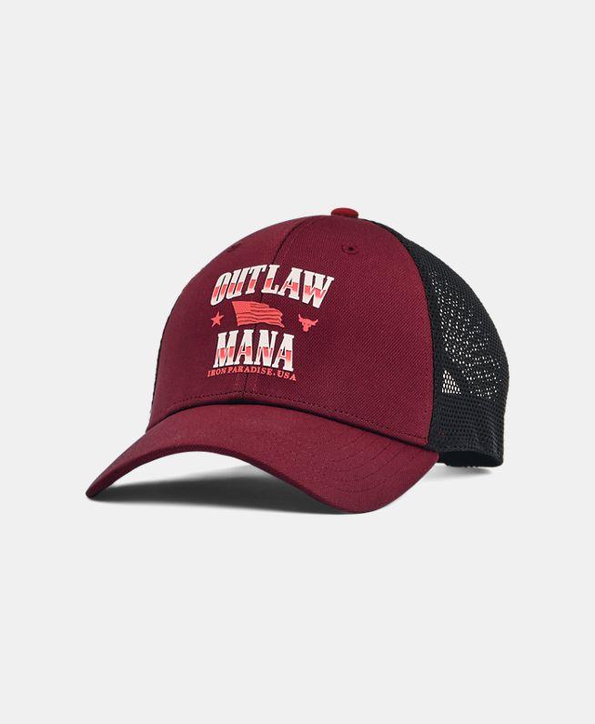 男士Project Rock强森Trucker运动帽