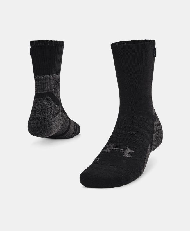 男女同款UA ArmourDry跑步羊毛袜