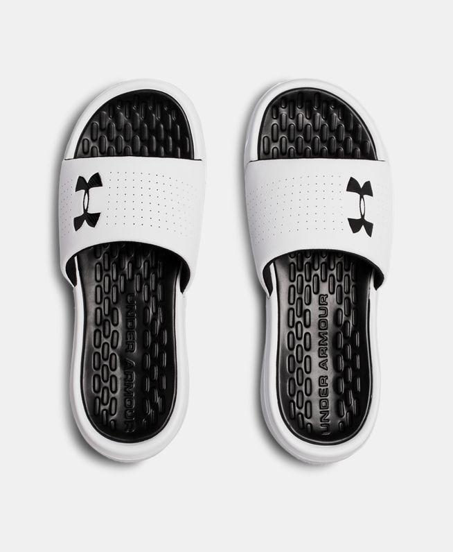 男士UA Playmaker Fixed Strap拖鞋