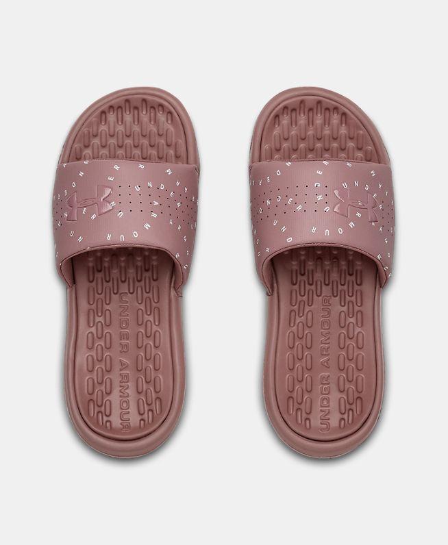 女士UA Playmaker Micro拖鞋