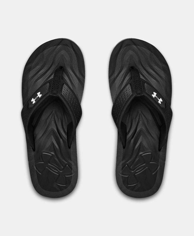 男童UA Marathon Key IV拖鞋