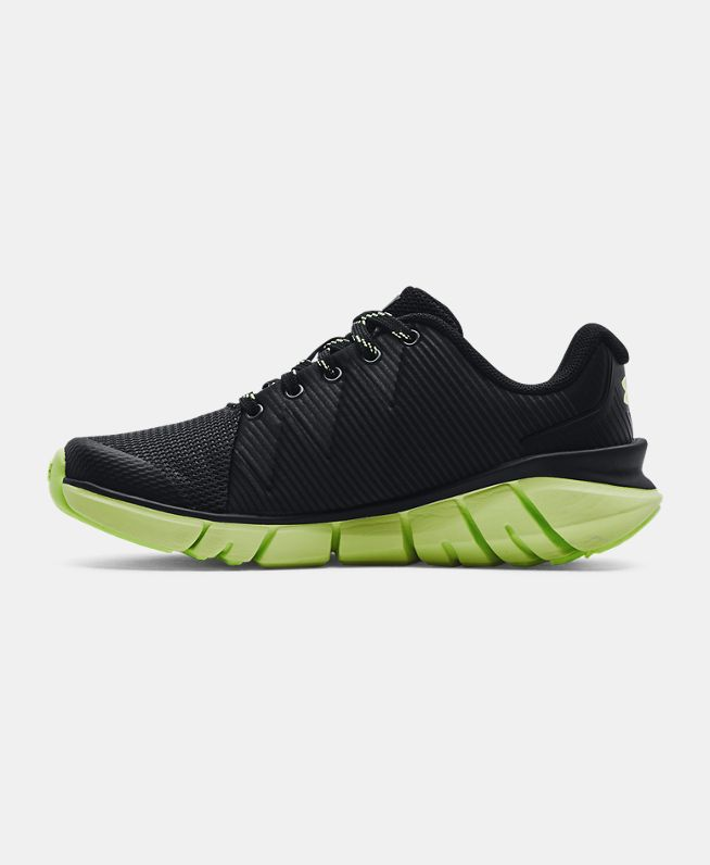 男小童Grade School UA X Level Scramjet 2 Glow跑鞋