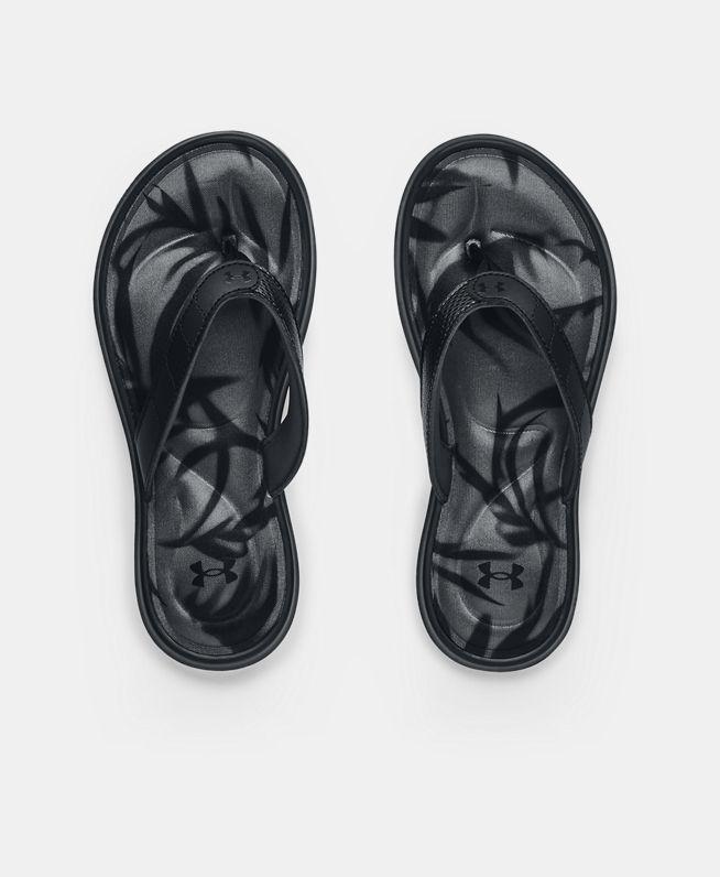 女士UA Marbella VII Graphic FB拖鞋
