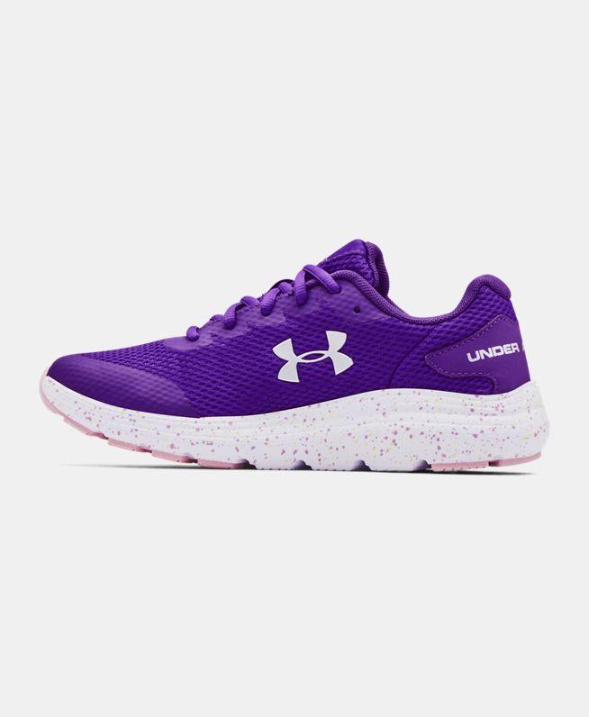 女童UA Surge 2 Fade跑鞋