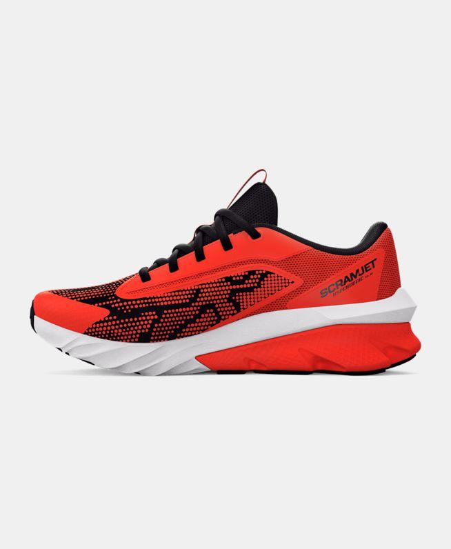 男童UA Charged Scramjet 4跑鞋