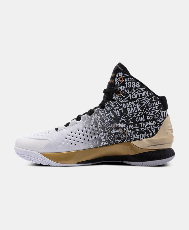 男女同款库里Curry 1 MVP篮球鞋