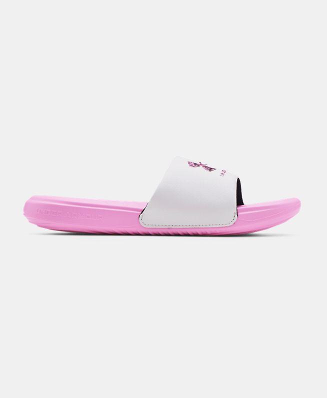 女童UA Ansa Graphic拖鞋