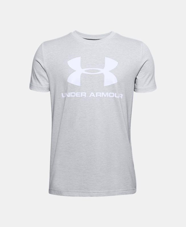 男童UA Sportstyle Logo短袖上衣