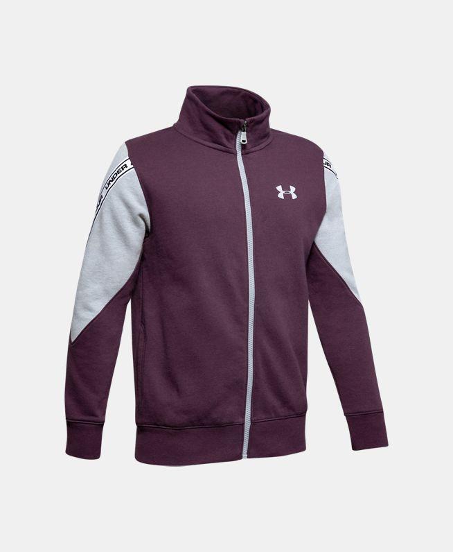 男童UA Sportstyle Fleece拉链衫