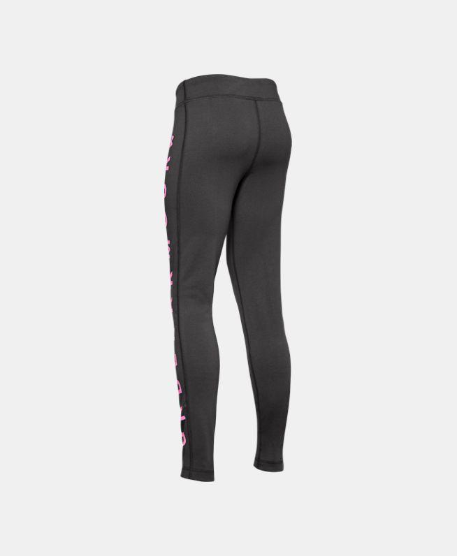 女童UA Sportstyle Branded紧身裤