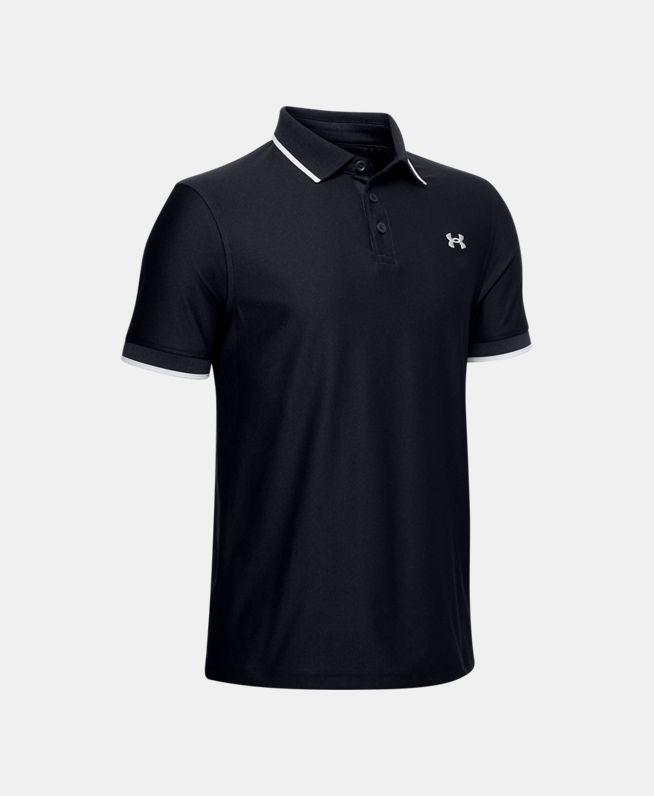男童UA Playoff Pique Polo衫