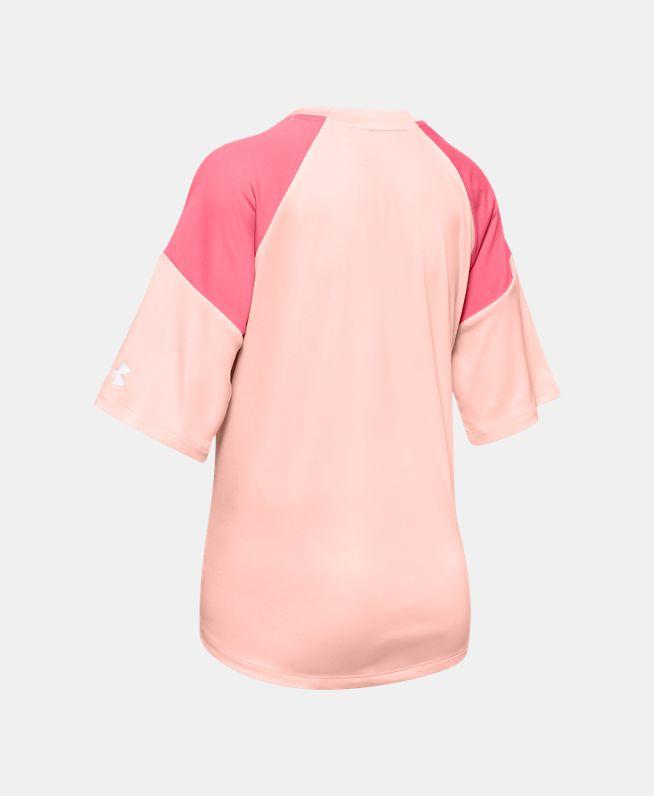 女童UA Sun Armour Graphic短袖T恤