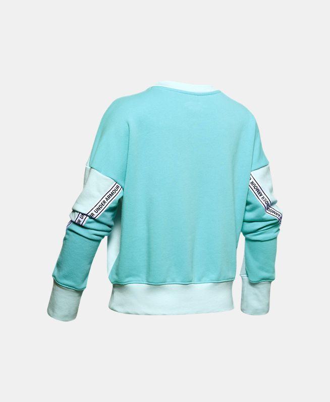 女童UA Sportstyle Terry圆领运动衣