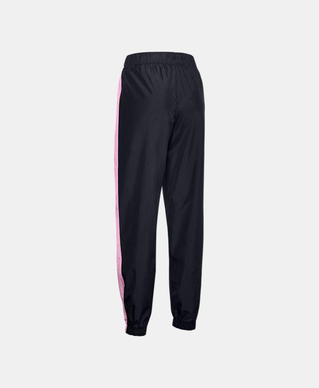 女童UA Lined Woven长裤