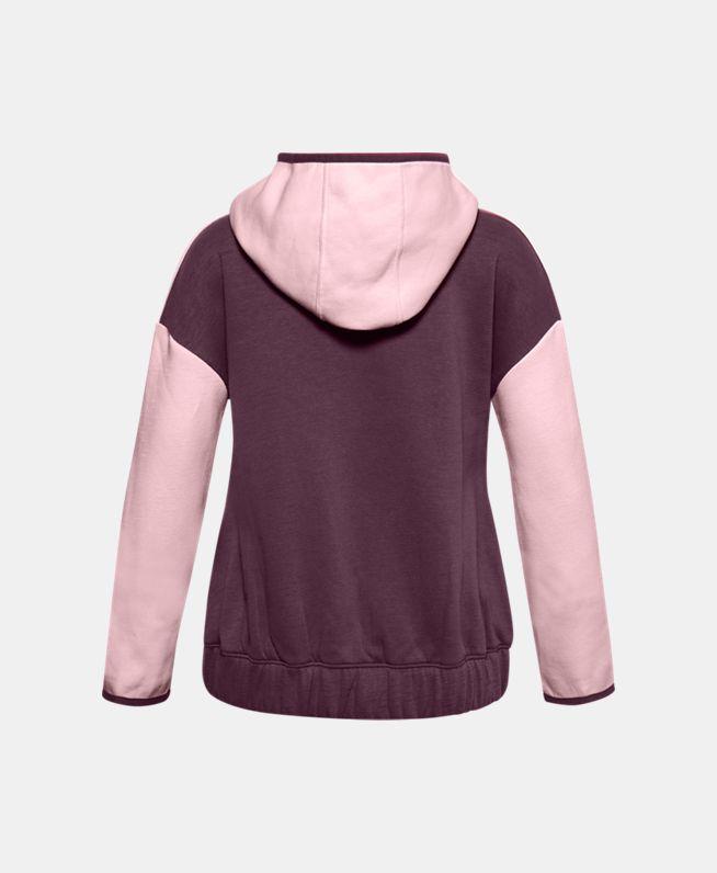 女童Project Rock Charged Cotton®抓绒拉链衫