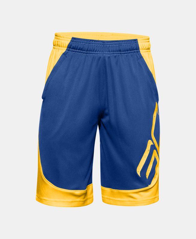 男童SC30 Basketball短裤