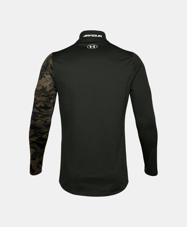 男士ColdGear® Armour印花高领运动衣