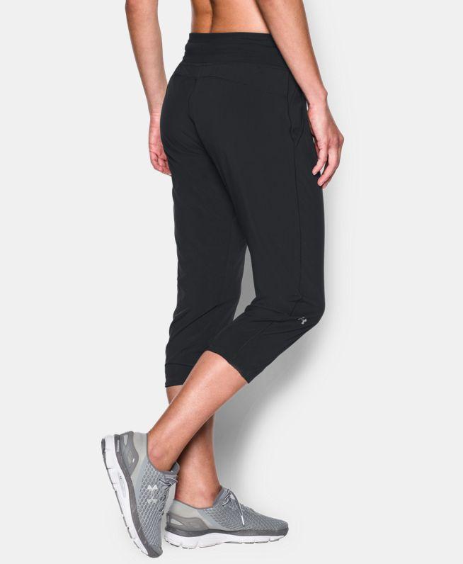 女士UA HeatGear Sunblock七分裤