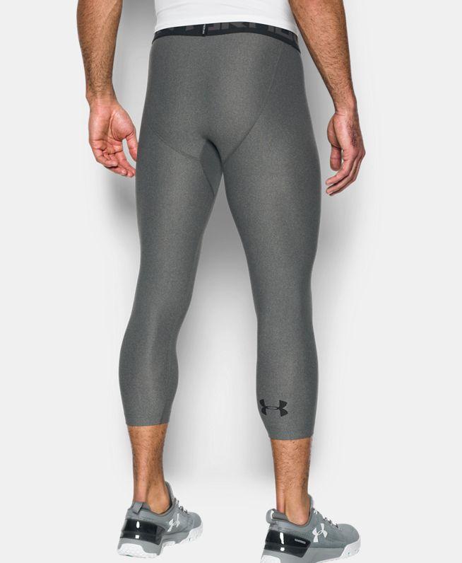 男士UA HeatGear® Armour强力伸缩型紧身裤