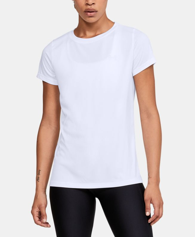 女士UA Velocity Solid Crew短袖T恤