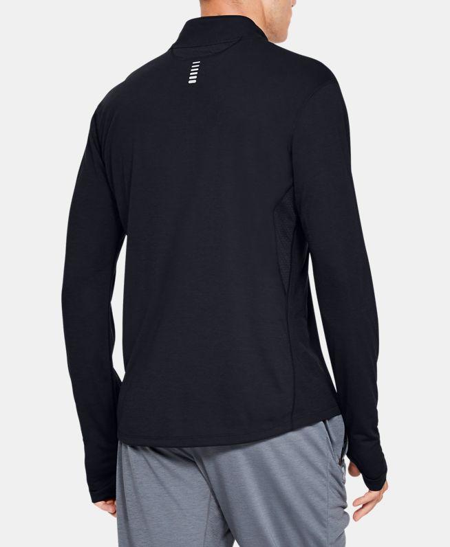 男士UA Streaker跑步1/2拉链运动上衣