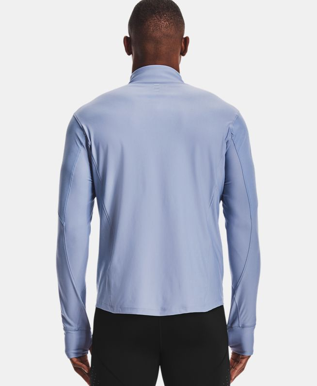 男士UA Qualifier 1/2拉链运动上衣