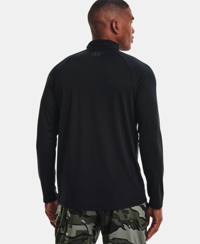 男士UA Tech 1/2拉链长袖T恤