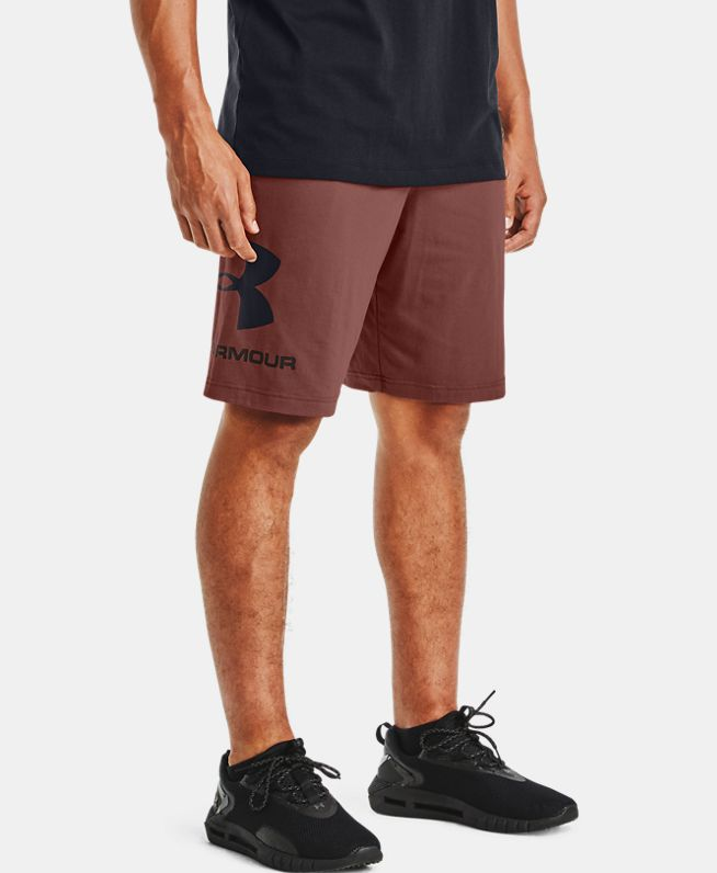 男士UA Sportstyle Cotton Graphic短裤