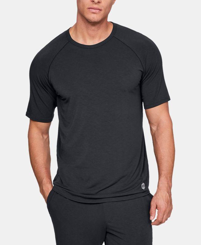 男士UA Recover Sleepwear短袖圆领运动衣