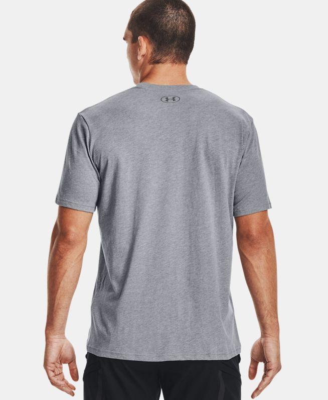 男士UA Sportstyle Logo短袖T恤