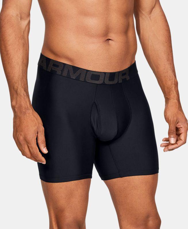 男士UA Tech Boxerjock 6英寸内裤