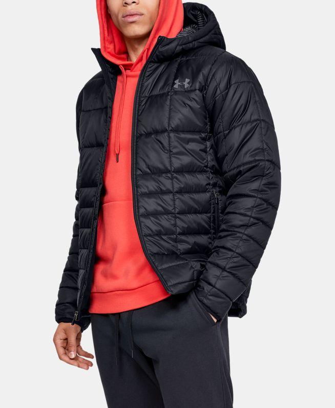男士UA Armour Insulated Hooded夹克