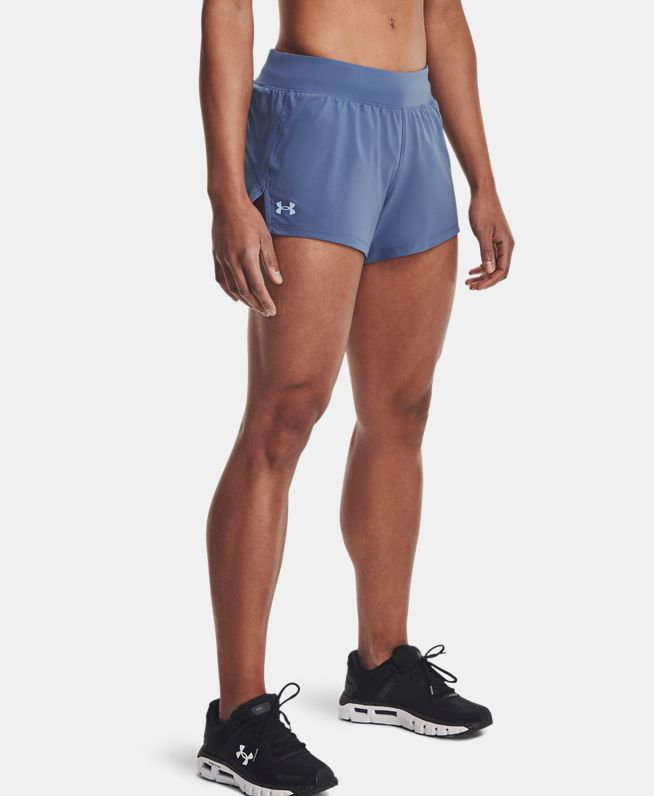 女士UA Launch SW 3英寸短裤