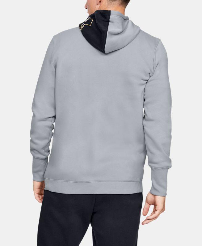 男士UA Baseline抓绒拉链衫