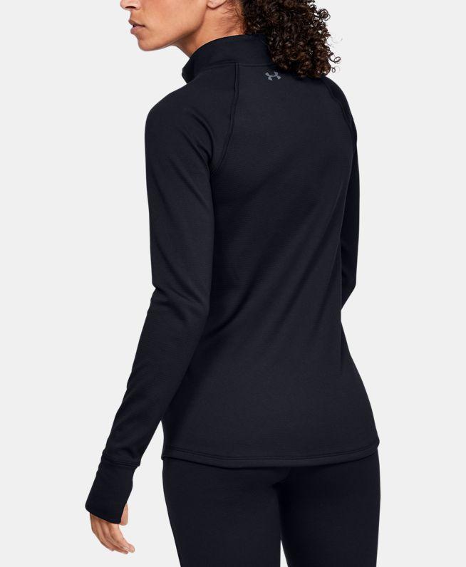 女士ColdGear® Base 4.01/2拉链运动上衣
