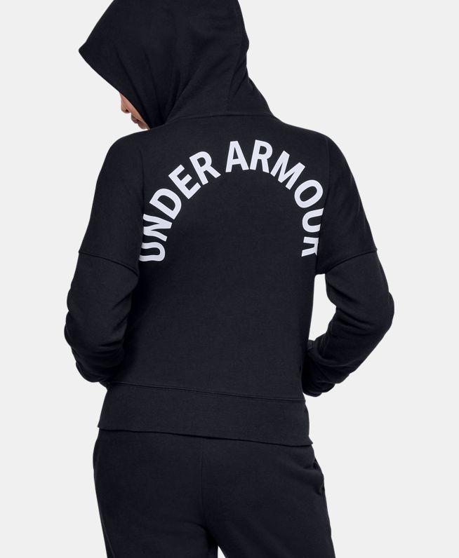 女童UA Rival拉链衫
