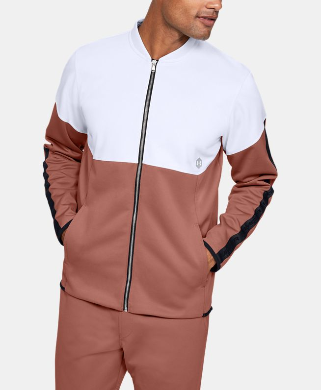 男士UA Recover Knit Warm-Up夹克