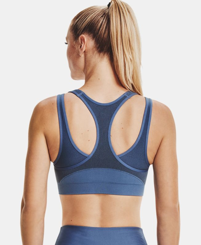 女士UA Vanish Seamless运动内衣—中强度