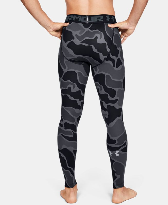 男士HeatGear® Armour 2.0印花紧身裤