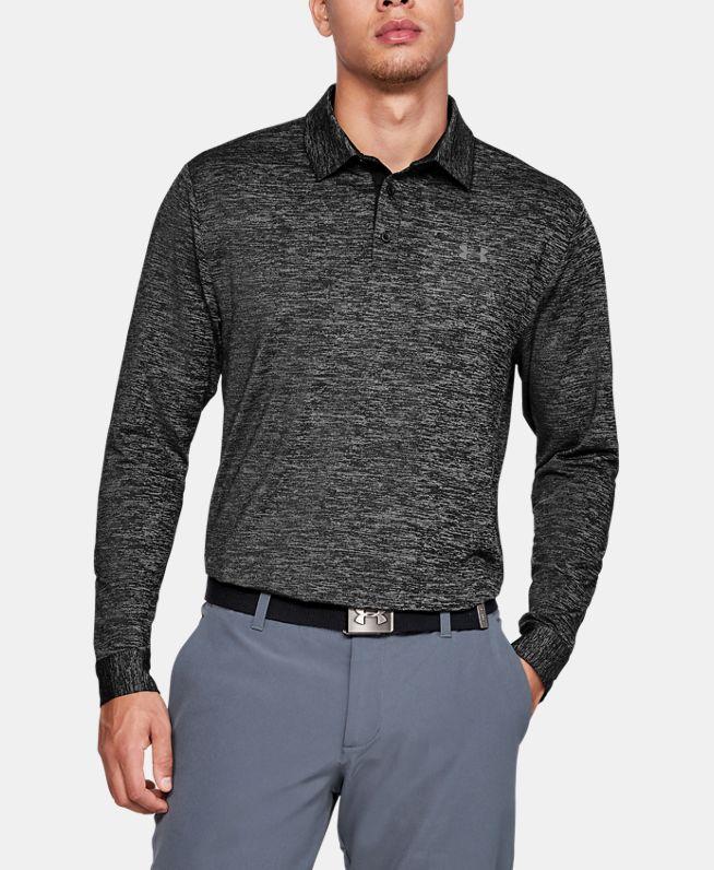 男士UA Playoff 2.0长袖Polo衫