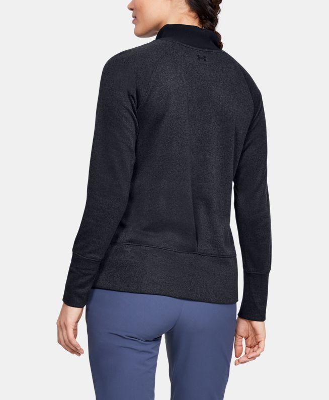 女士UA Storm SweaterFleece高领运动衣