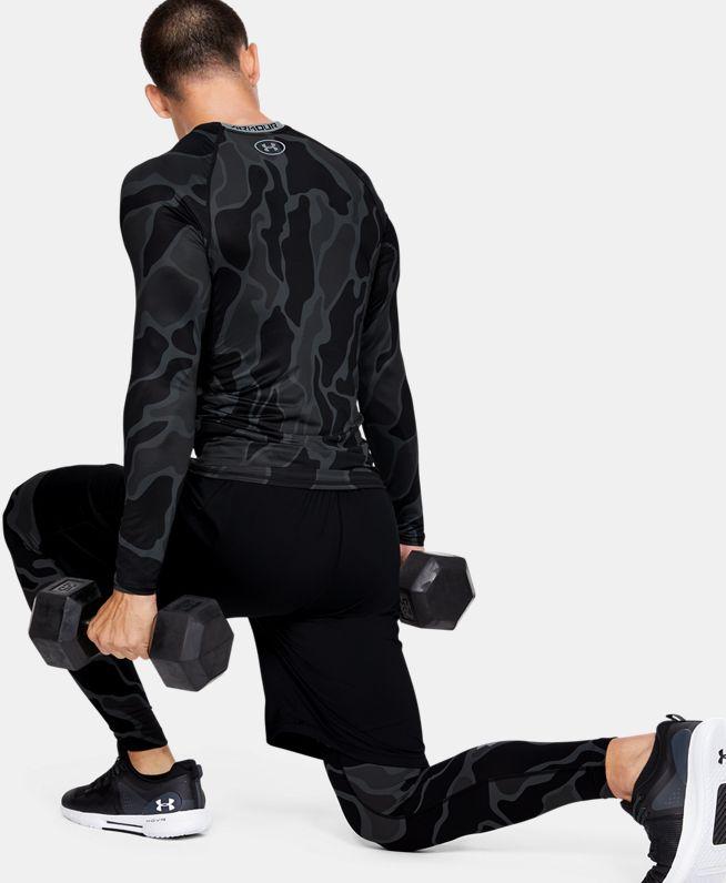 男士UA HeatGear® Armour长袖运动衣