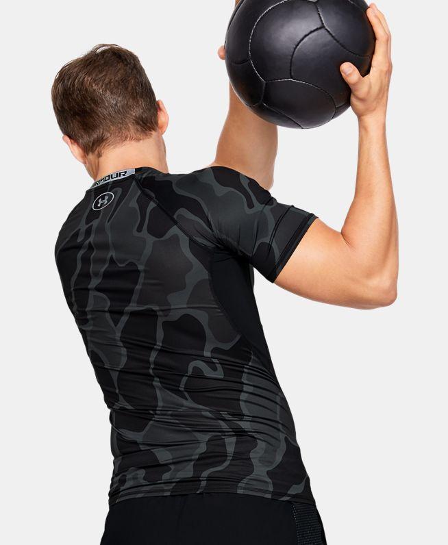 男士HeatGear® Armour短袖T恤