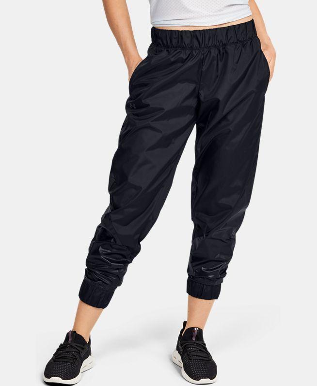 女士UA Metallic梭织长裤