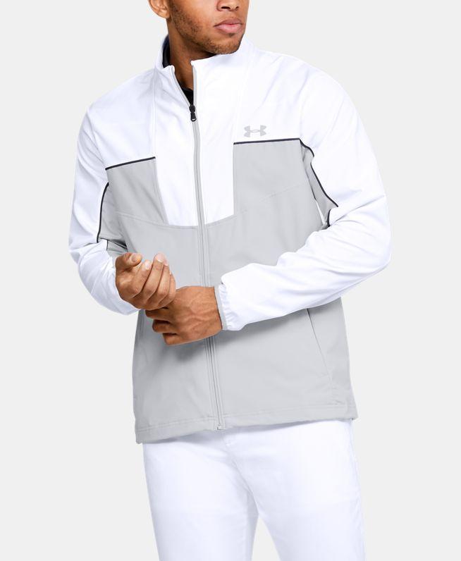 男士UA Storm Windstrike拉链衫