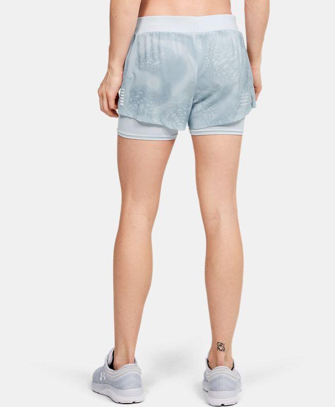 女士UA Speedpocket Weightless二合一短裤