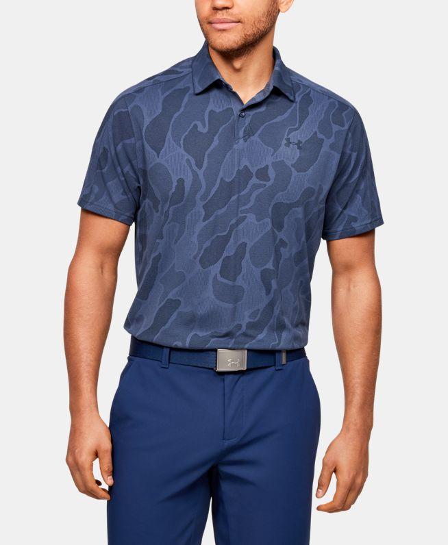 男士UA Vanish Jacquard Polo衫